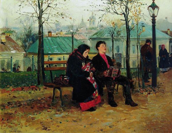 Маковский Владимир Егорович - На бульваре. 1887
