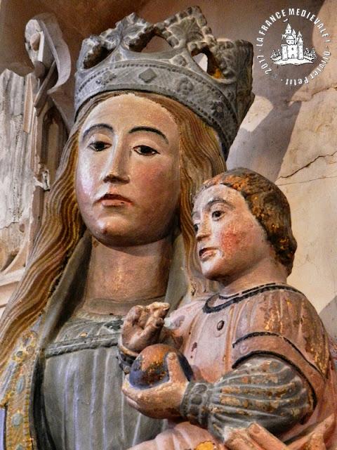 SOULOSSE-SOUS-SAINT-ELOPHE (88) - Vierge à l'Enfant (XIVe siècle)