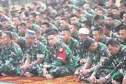 Kartika Yudha 2019, Ribuan Prajurit TNI AD Sholat Idul Adha di Medan Latihan