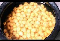Soaked chana overnight for chole bhature recipe