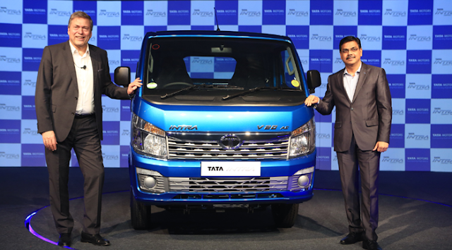 टाटा मोटर्स ने लॉन्च किया भारत का पहला कॉम्पैक्ट ट्रक 'टाटा इंट्रा' | BUSINESS NEWS
