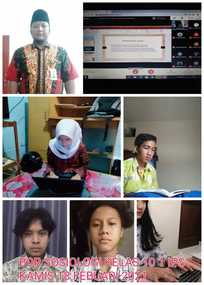 Sosiologi 10 IPS 1 & 2 (25 Februari 2021)