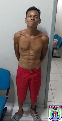 Homem é preso depois de surrar e tentar quebrar perna de uma garota de 14 anos, em Paulino Neves-MA