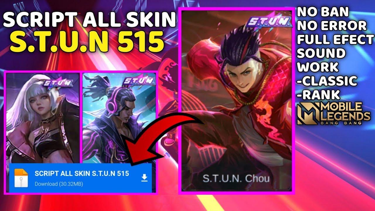 Download Script Unlock All Skins S.T.U.N 20 Mobile Legends ...