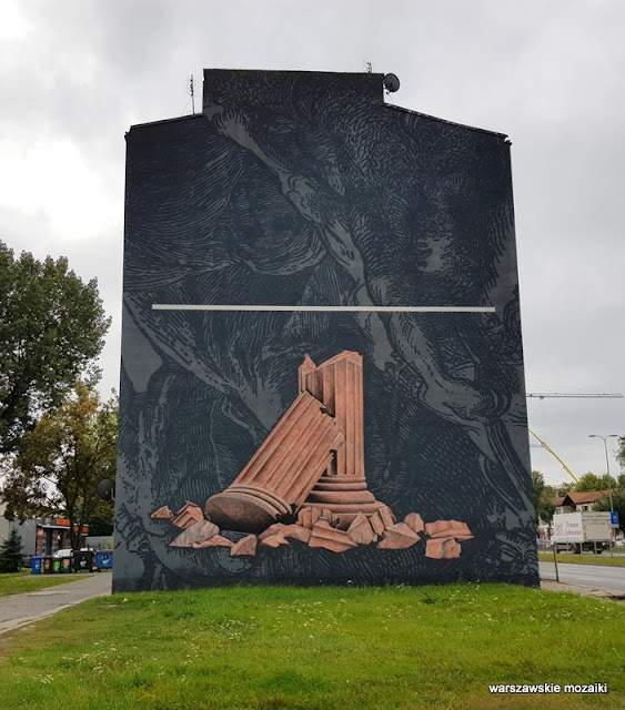 Warszawa Warsaw warszawskie murale murals graffiti muralart