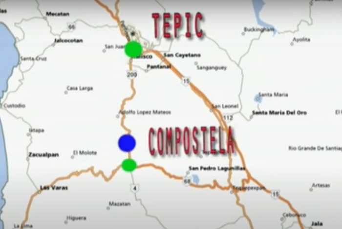 Ruta Tepic a Guayabitos por Carretera