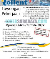 Open Recruitment at PT. Rollent Indonesia Gresik Terbaru November 2019