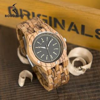 contoh jam tangan kece merk Bobo Bird