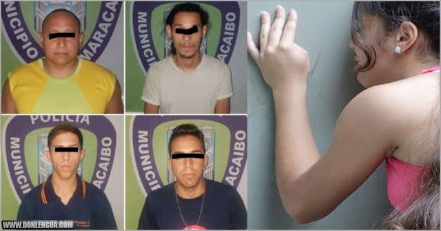 4 detenidos por producir y vender pornografía infantil en Maracaibo