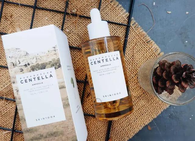 Bahan Pembuatan Serum Centella Ampoule