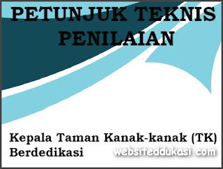 Juknis Penilaian Kepala TK Berdedikasi 2019
