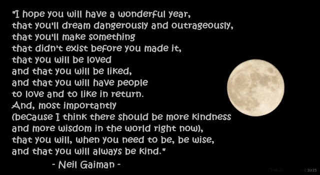 Neil Gaiman Quote New Year Inspiration