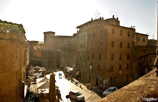 Inizio del centro storico di Pitigliano