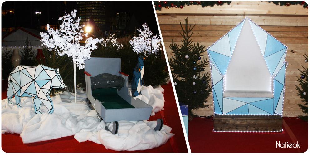 point photo du marché de Noël de la défense