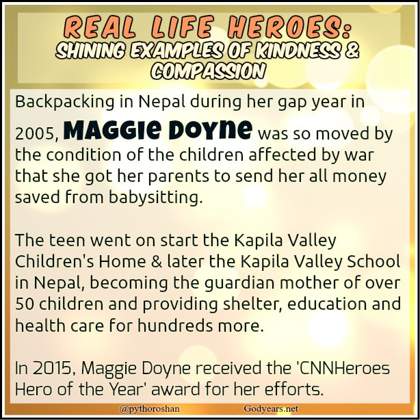 Maggie Doyne built the Kapila Valley Children's Home & later the Kapila Valley School in Nepal - BlinkNow