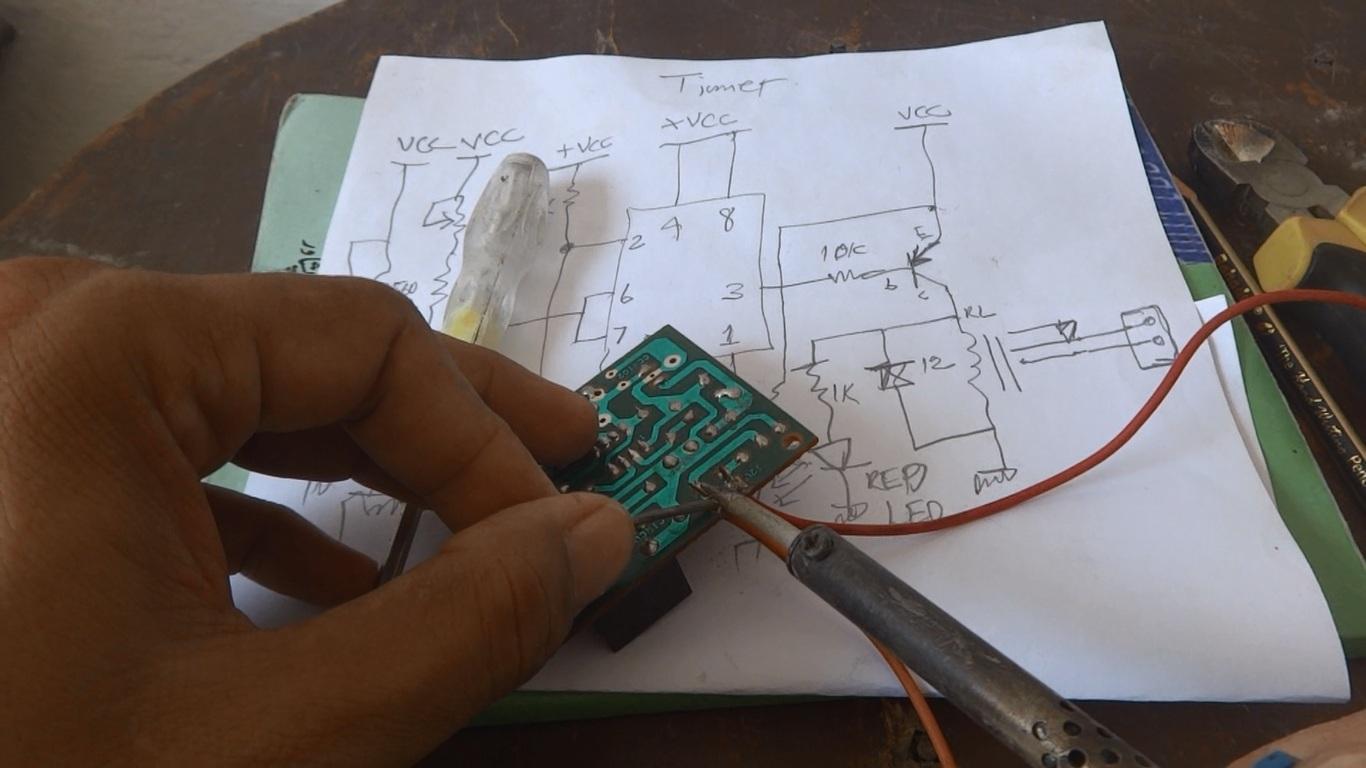 How To Build A Tan Timer Circuit Diagram