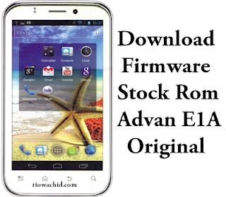 Download Firmware Advan E1A Original