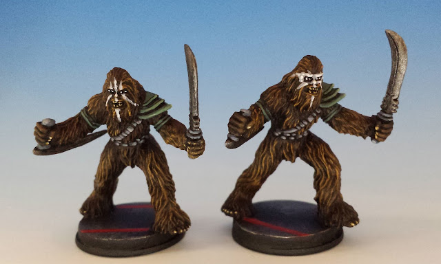 Wookie Warriors, Imperial Assault FFG (2015, sculpted by B. Maillet)