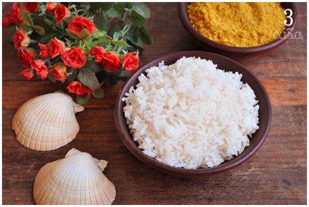 receita arroz coco