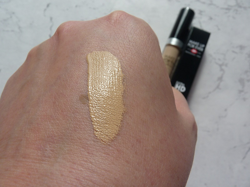 makeup forever ultra hd 30 concealer swatches