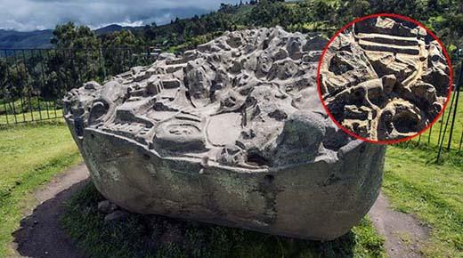 La piedra de Sayhuite: Una masiva roca con más de 200 figuras geométricas y zoomorfas