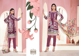 Gulnaaz vol 1 the Premium lawn Pakistani dress material catalog
