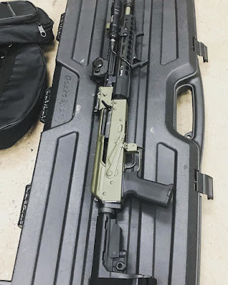 Railed-Handguard-AK74-Romanian-Suppressed