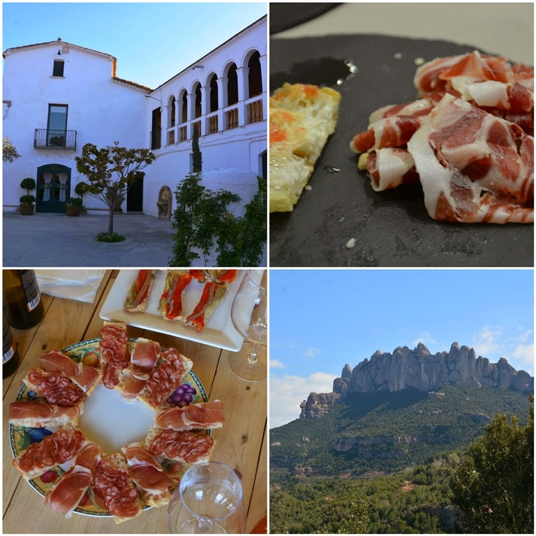 Catalonia Collage Tapas Mountains