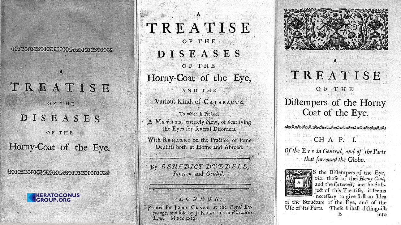 The Diseases of the Horny-coat of The Eye Benedict Duddell