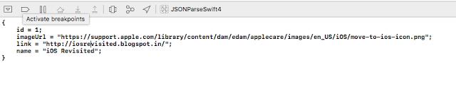 Parsing JSON Using Decodable Protocol