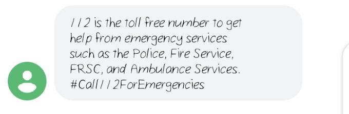 Yadda zaka kira  EMERGENCY NUMBERmotar asibiti, kashe gobara,police da sauransu (Emergency)