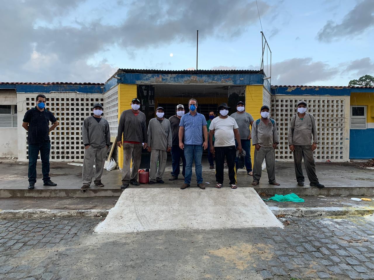 Hospital Geral de Ribeirão está sendo reformado e será entregue a população até o fim de maio