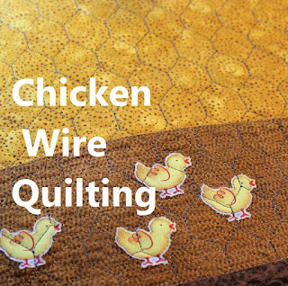 Chicken Wire Quilting tutorial