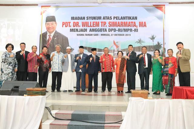 Plt Wali Kota Minta Dukungan Anggota DPD RI Normalisasi Sungai & Bangun Fly Over