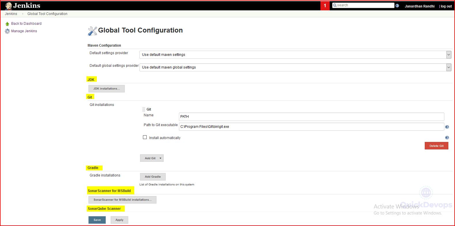 GobaltoolConfiguration