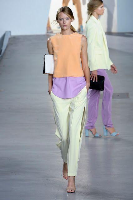 Look do dia - Chanel  colecção primavera verão Boa coordenação de tons suaves