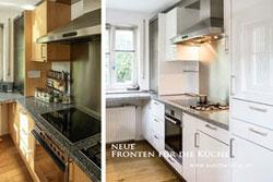 wer erneuert die Fronten von Küchen? KM Küchenmodernisierung München GmbH - alle Arbeiten rund um Ihre Küche