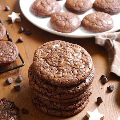 Cookies Brownie au Chocolat Sans Gluten
