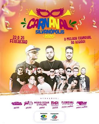 carnaval silvanopolis