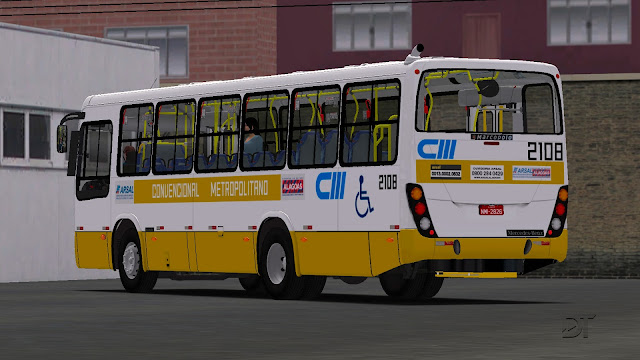 OMSI 2 - Pintura da CM Transportes para o Marcopolo Torino 2007 MB OF-1418