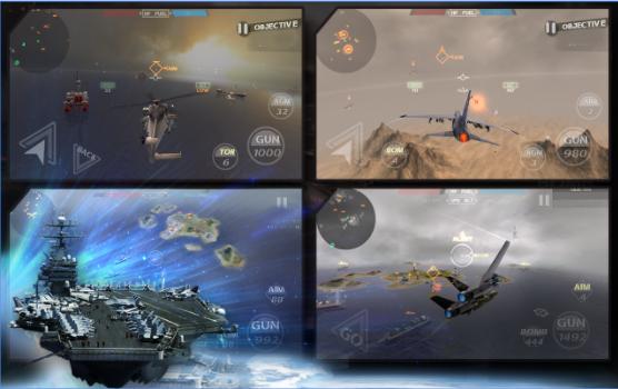 5 Game Pesawat Tempur Android Penuh Tantangan