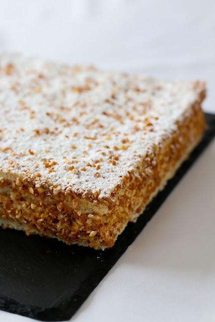 Gâteau Le russe la recette