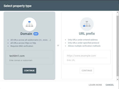 add property by domain