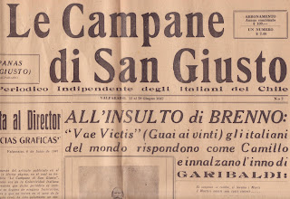 La Campana Di San Giusto.Blog De Bruno Carnio Noi Carnio