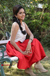 Actress Mahima Nambiar Latest Stills in White Top and Red Skirt at Kuttram 23 Movie Press Meet  0032.jpg