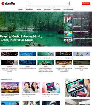 Video Play Blogger Template