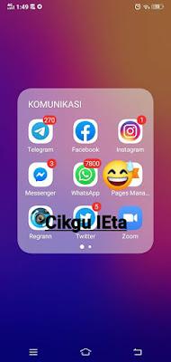 HIMPUNAN KISAH BENAR, CERPEN CIKGU iEta, Biar betul?, Whatsapp Marketing