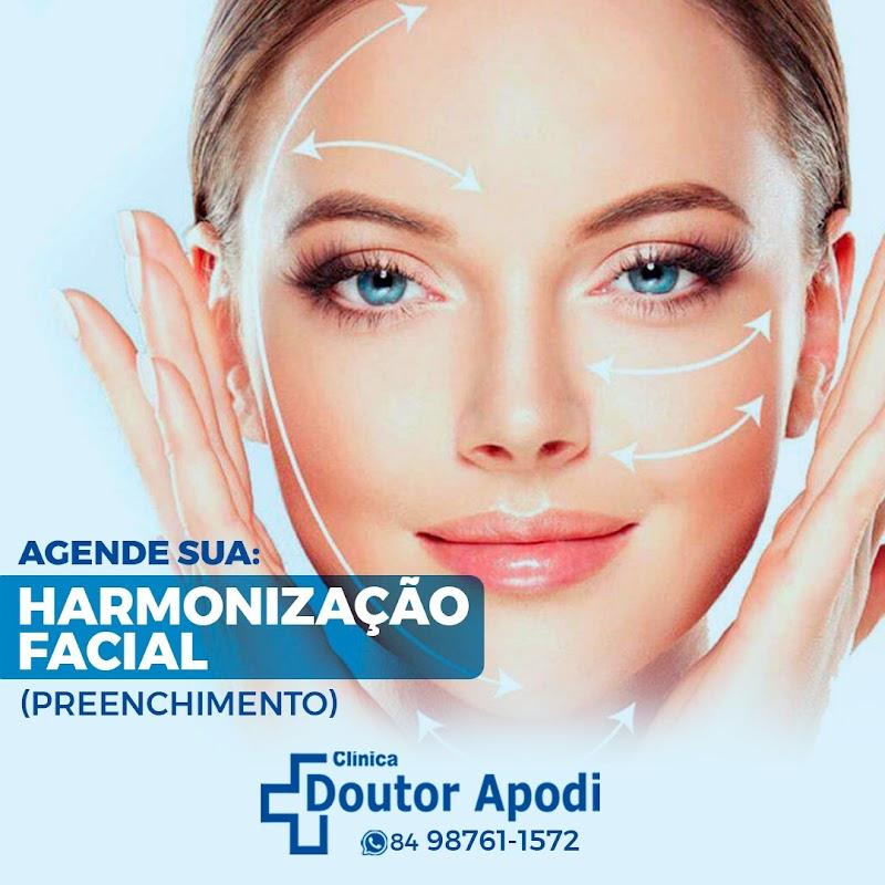Na clínica DOUTOR APODI, realizamos harmonização facial através de preenchimento de olheiras, lábio, bigode chinês ou delimitar os contornos da face. Agende uma avaliação com nosso médico . ☎️98761-1572