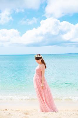沖縄 マタニティフォト 家族写真 海 ロケーション撮影 カメラマン