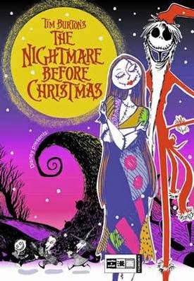 Pesadilla Antes De Navidad, De Tim Burton - Jun Asuka